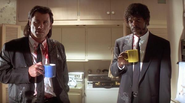 Nach dem Blutbad erstmal 'nen Kaffee...